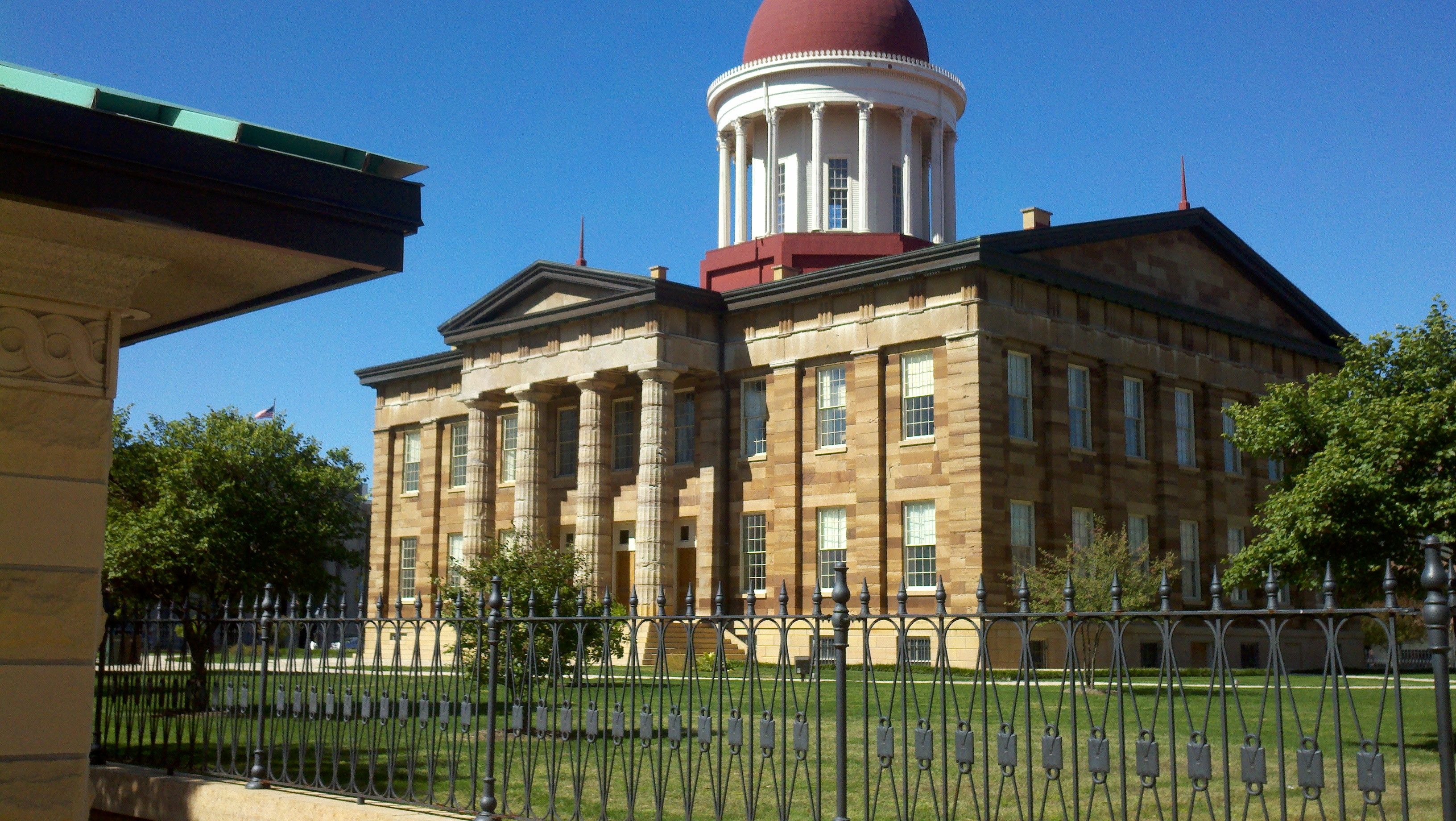 The Old Capitol Building in Springfield IL – Creation Training