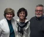 Lesley with Beth and Tim Burden