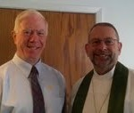 Pastor Mark Carnahan and Mike