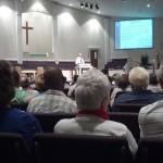 Sunday morning at Lantana Road Baptist Church